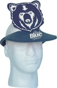 Foam Bear Visor, TI203, 1 Colour Imprint