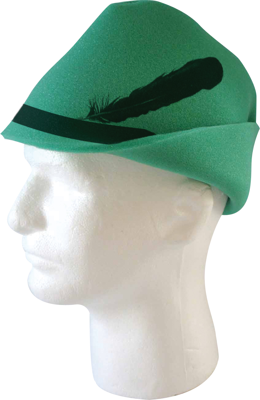 Foam Bavarian Style Hat, BAV201, 1 Colour Imprint