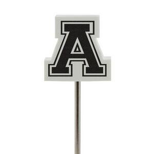 Foam Letter A Antenna Topper, A601, 1 Colour Imprint