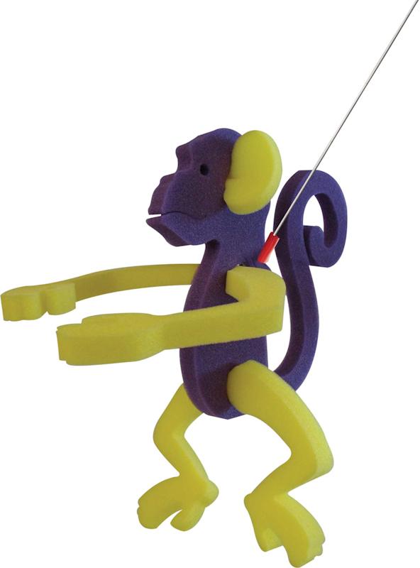 Walking Pet Monkey on a Leash, MK101, 1 Colour Imprint