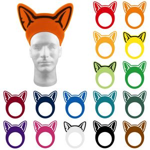 Animal Ears Pullover Visor, CHI201, 1 Colour Imprint