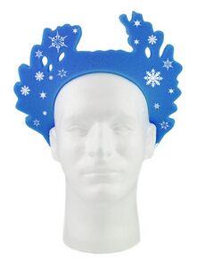 Snowflake Pullover Visor, WR202, 1 Colour Imprint