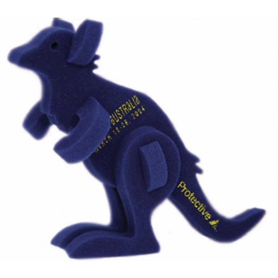 Walking Pet Kangaroo on a Leash, KA101, 1 Colour Imprint