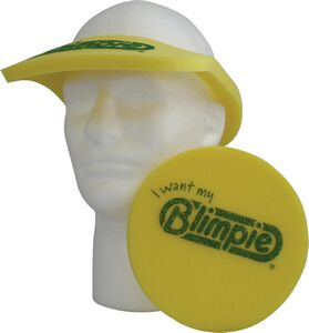 Pop-up Visor - Visor, VI202, 1 Colour Imprint