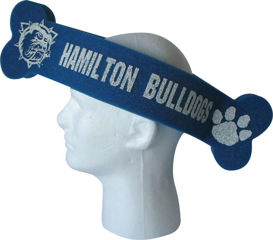 Foam Bone Hat, BON201, 1 Colour Imprint
