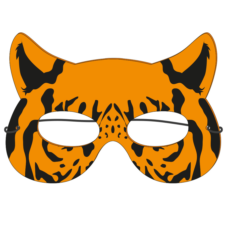 Foam Animal Mask, ANI502, Full Colour Imprint