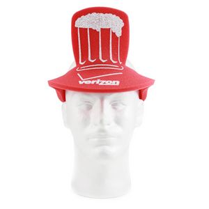 Foam Pub Beer Hat, NU202, 1 Colour Imprint