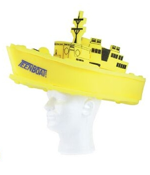 Battle Ship Foam Hat, SHIP201, 1 Colour Imprint