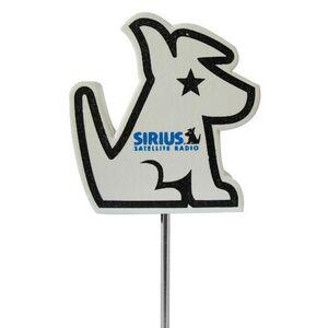 Foam Antenna Topper - Sirius Dog, DOG601, Full Colour Imprint