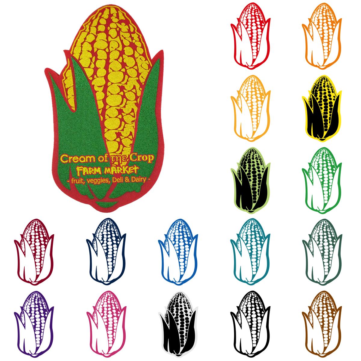 Foam Corn Waver/Mitt, CORN301, 1 Colour Imprint