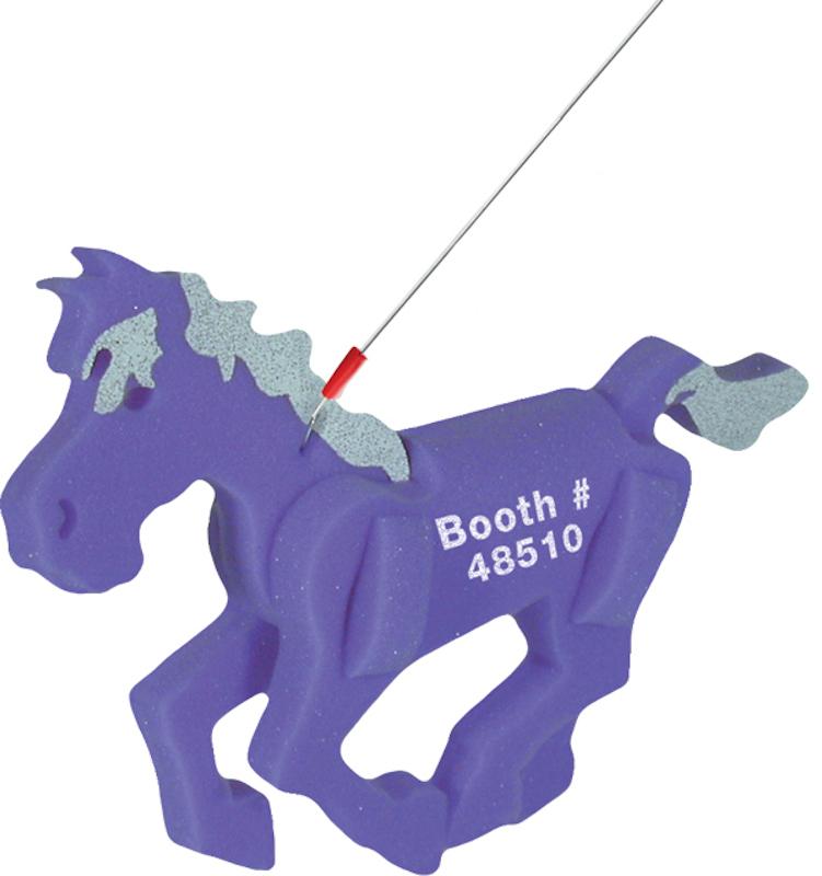 Walking Pet Horse on a Leash, HO101, 1 Colour Imprint
