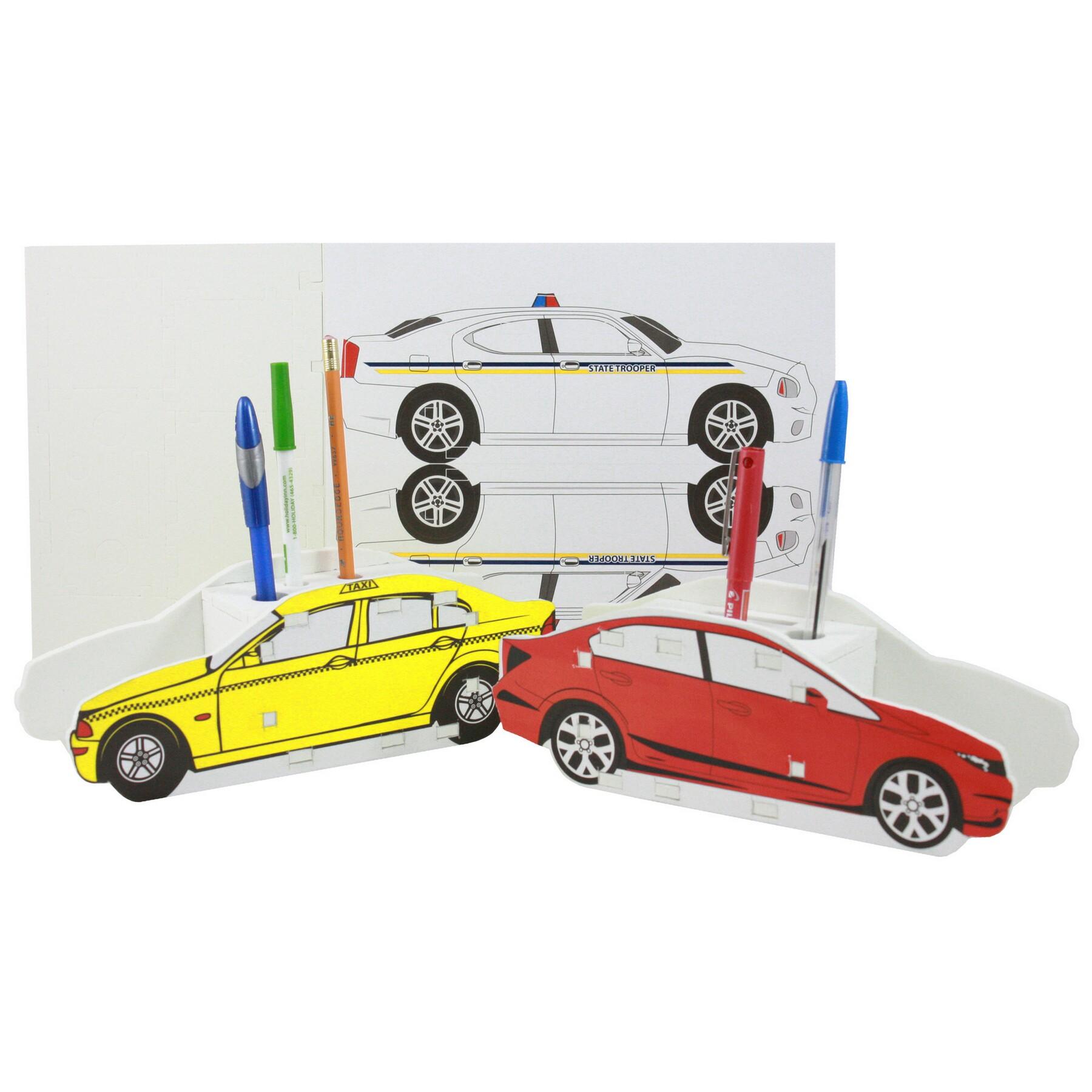 Foam Car Puzzle Organizer, CUCAR502, 1 Colour Imprint