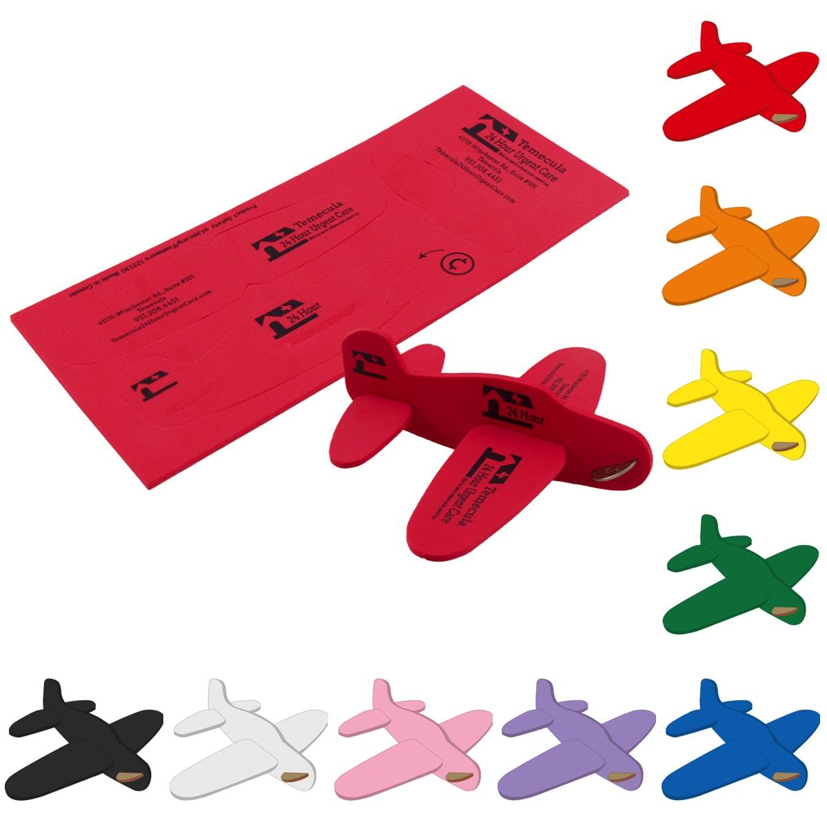 Foam Airplane Puzzle, JJ502, 1 Colour Imprint