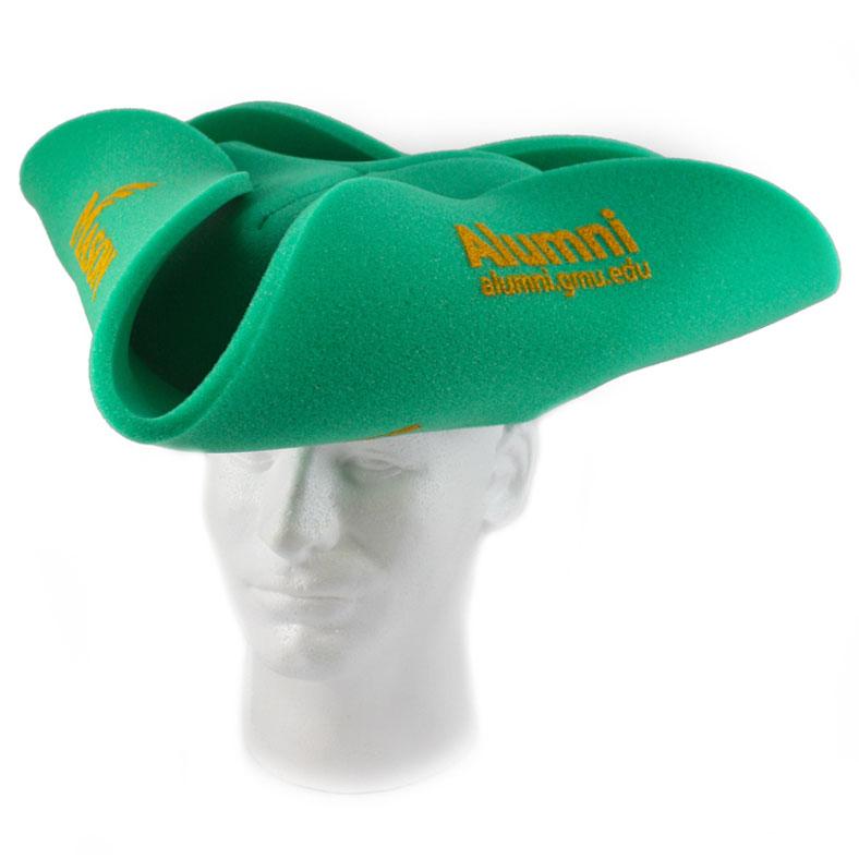 Foam Colonial Pirate Hat, TRH202, 1 Colour Imprint