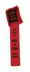 Foam Bookmark - Book Shaped Top, BMB501, Full Colour Imprint
