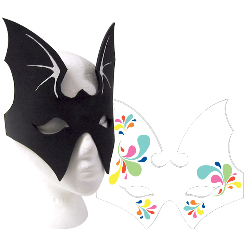 Foam Mask, BATG201, 1 Colour Imprint