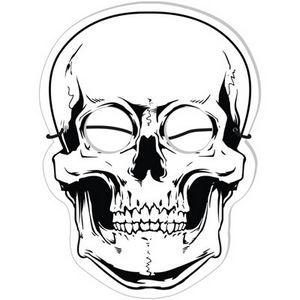 Foam Skull Mask, SKULL251, Full Colour Imprint