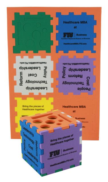 Puzzle Cube Organizer, CUMIX502, 1 Colour Imprint
