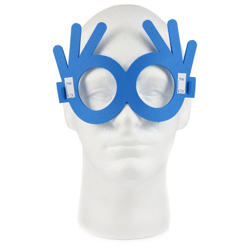 3 Finger Glasses, 3GLASS250, 1 Colour Imprint