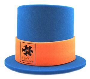 Foam Top Hat, TH202, 1 Colour Imprint