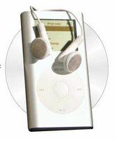 MP3 Player Acrylic Coaster w/ Felt Back