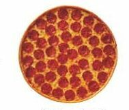 Pizza Acrylic Coaster w/ Felt Back
