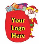 Santa's Toy Bag Bookmark w/ Black Back