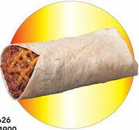 Burrito Acrylic Coaster w/ Felt Back