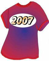 School Year T Shirt Acrylic Coaster w/ Felt Back