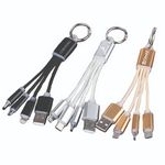 Custom 2-IN-1 USB Cable Key Chain