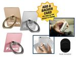 Custom Square Ring Phone Holder With Hook