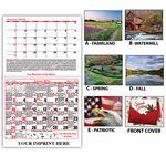 Custom Weather Vane Almanac Calendar
