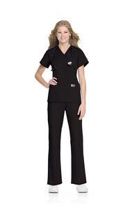 0da2a80a0fa ScrubZone Women's Faux Wrap Tunic - 70224 - IdeaStage Promotional Products