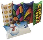 Custom Pillow Box Custom Printed 5.5