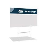 Corrugated Plastic Sign 1+ C44 (24