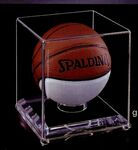 Custom Acrylic Mini Basketball Case w/ 1/4