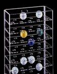 Custom Acrylic Golf Ball Multi Case w/ 7 Shelves & 63 Ball Enclosure
