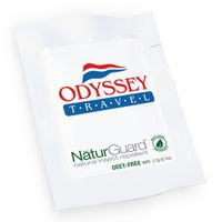 NaturGuard Natural Insect Repellent Wipes, Label Imprint