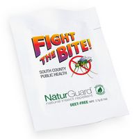 NaturGuard Natural Insect Repellent Wipes, Direct Imprint