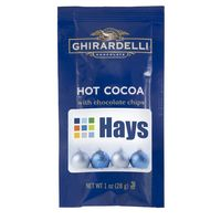 Ghirardelli Hot Cocoa, 1 oz Pouch, with Chocolate Chips