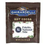 Ghirardelli Hot Cocoa, 1.5 oz Pouch