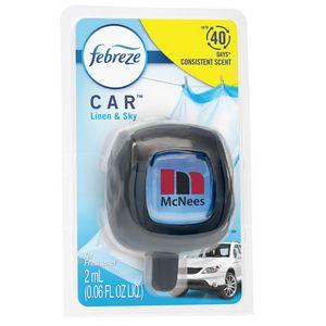 Febreze CAR Vent Clip, Linen & Sky scent, Clamshell Upgrade