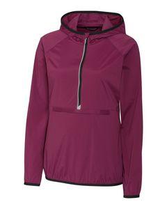 Custom Ladies' Breaker Hooded Half-Zip Pullover