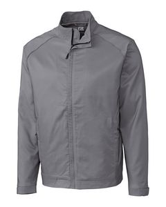 Custom Men's Cutter & Buck WeatherTec Blakely Jacket (Big & Tall)