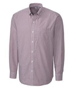 Mens Cutter & Buck Easy Care Mini Bengal Stripe Shirt