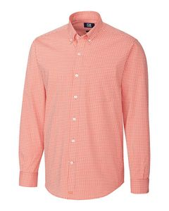 Custom Men's Anchor Gingham Shirt