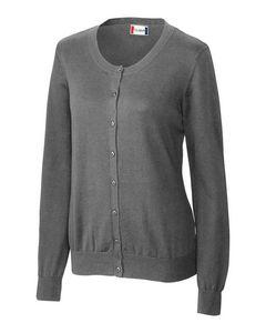 Custom Ladies' Clique Imatra Cardigan Sweater