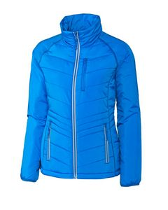 Custom Ladies' Cutter & Buck WeatherTec Barlow Pass Jacket