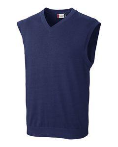 Custom Men's Clique Imatra V-Neck Sweater Vest