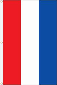 3x8 Red White Blue 3 Stripe Vertical Nylon Flag 38df V3rwb